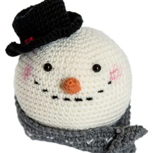 Amigurumi Snow Man