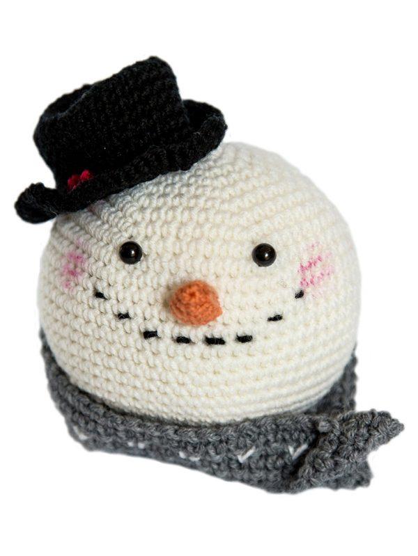 Amigurumi Snow Man