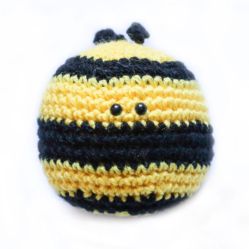Ape Uncinetto Amigurumi Tutorial - Bee Crochet - Abeja Croche ... | 804x804
