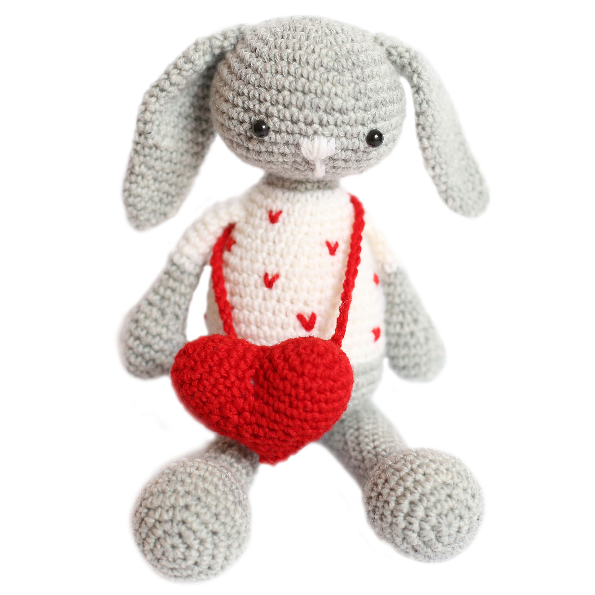 Coniglio Amigurumi Uncinetto : Alessio il coniglio Kit Amigurumi Happy Shop