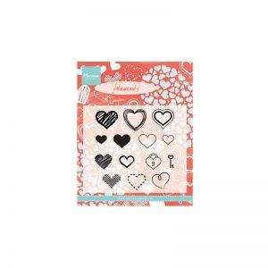 timbri-silicone-clear-stamp-marianne-design-hearts-set-cuori