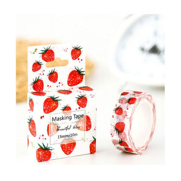 washi tape fragola frutta strawberry