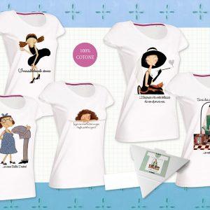 t-shirt Le nasute Arcadia maglietta