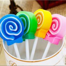 gomma eraser lollipop eraser