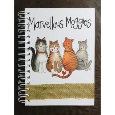 Quaderno con spirale Gattini