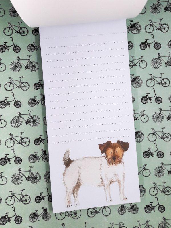 Alex Clark Jack Russell Notepad