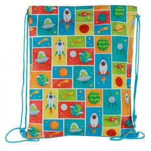 Sacca sacchetta sacchetto zainetto spazio space
