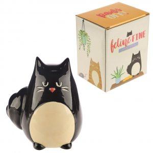 Salvadanaio Cat Gatto Nero