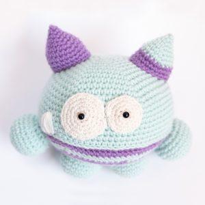 Bombo Amigurumi Uncinetto Crochet Monster