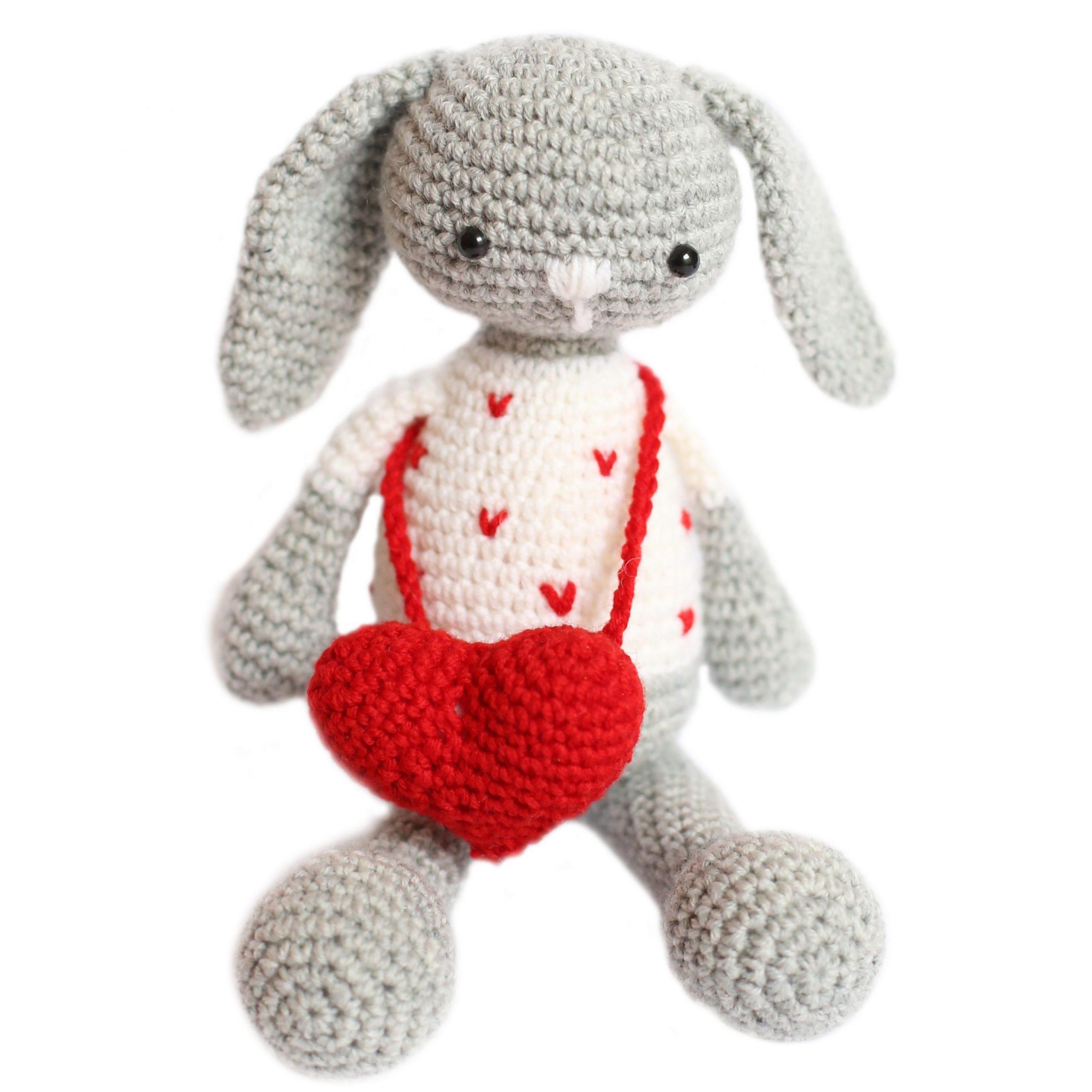 Alessio Amigurumi Crochet Uncinetto Coniglio Rabbit Pattern