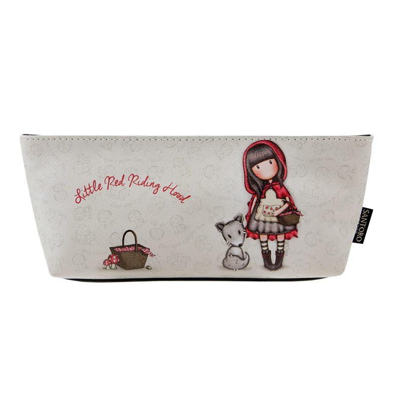 280gj19-cappuccetto-rosso-astuccio-make-up-penna-pencil-case-matita-matite-porta-zip-cerniera-bimba-bambina