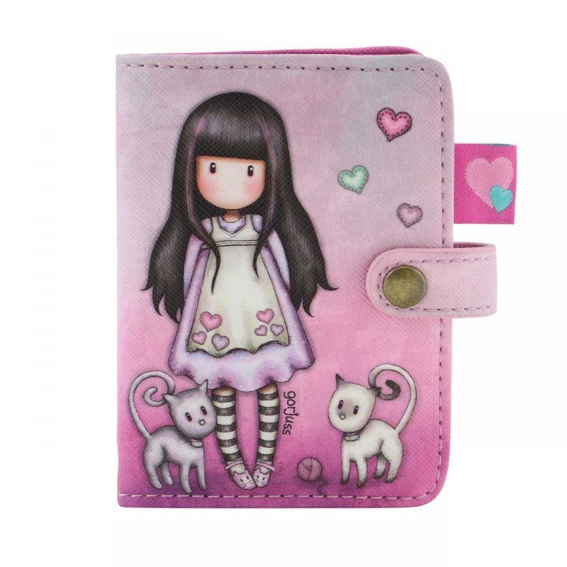 583GJ08_Gorjuss_Card_Holder_santoro-tessera-biglietti-biglietto-tessere-rosa-viola-bimba-bambina-porta-pochette