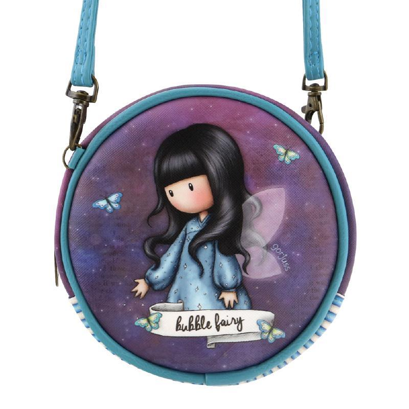 907gj03-santoro-mini-bag-gorjuss-round-bubble-fairy-angelo-bimba-bambina-azzurro-farfalla-farfalle