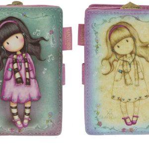 santoro-gorjuss-bimba-bambina-portafoglio-porta-tessere-tessera-wallet-rosa-viola-mabina-bimba-musica-fiore-fiori-portamonete-342GJ11