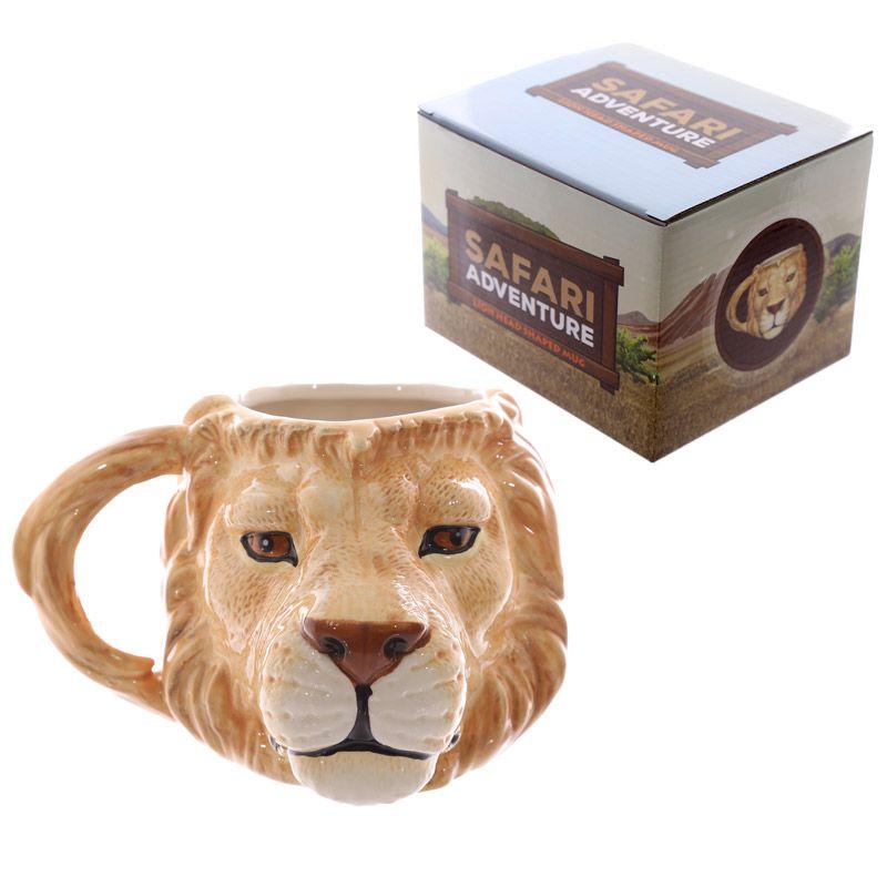 MUG212-forma-di-leone-lion-head-form-manico-animals-animal-animale-animali
