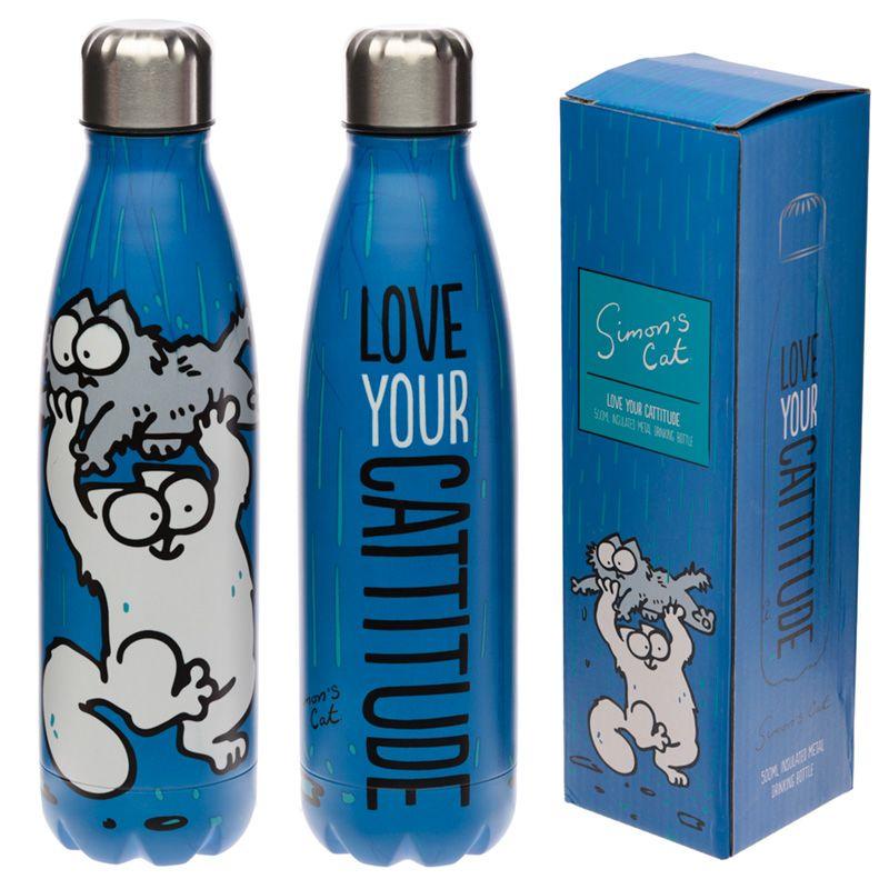 bottiglia-acciaio-500-ml-simon-s-cat-drinking-bottle-metal-love-your-cattitude-termica-BOT63