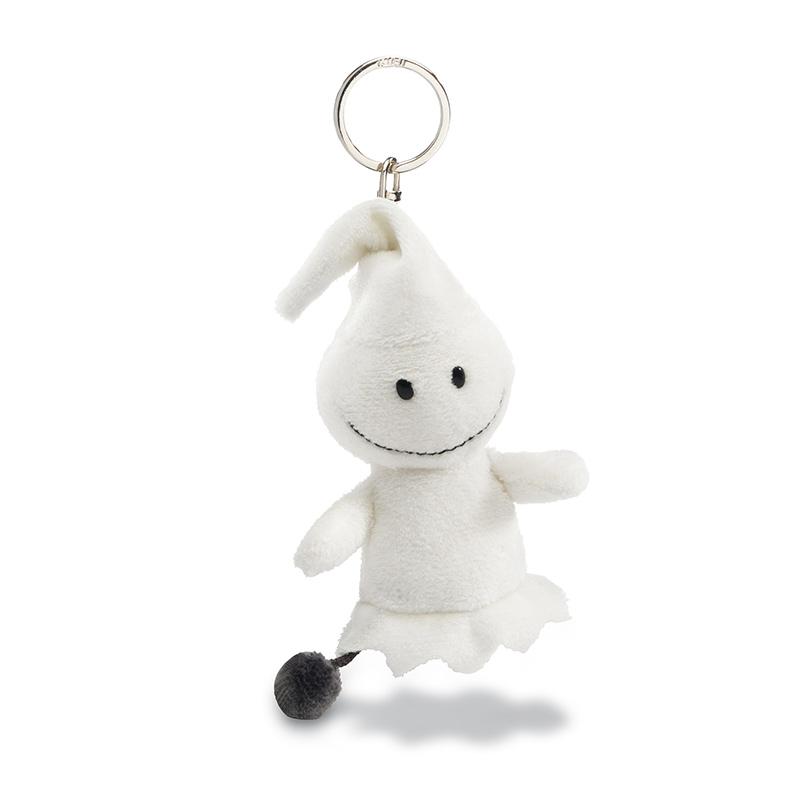 nici-peluche-pupazzo-pupazzetto-porta-chiavi-chiave-animaletto-fantasma-ghost-winter-bianco-soffice-40397