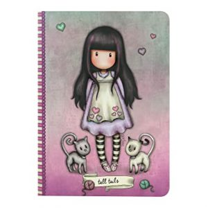 notebook-organizer-journal-bee-loved-just-rosa-gorjuss-santoro-london-bimba-bambina-spirale-quaderno-314GJ34
