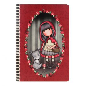 notebook-organizer-journal-bee-loved-just-rosso-gorjuss-santoro-london-cane-cagnolino-bimba-bambina-spirale-quaderno-314GJ31