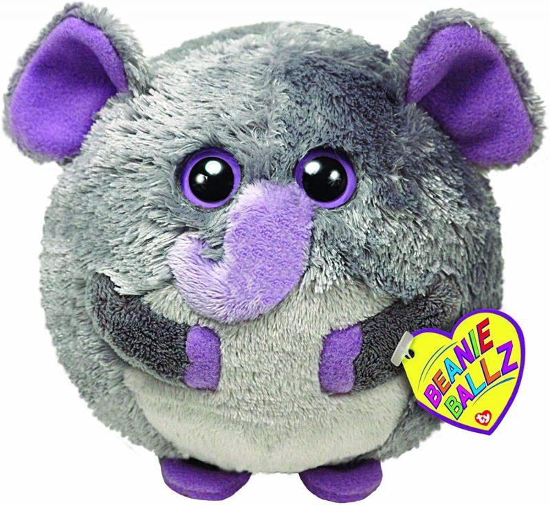 peluche-pupazzo-pupazzetto-ty-elefante-elefant-ball-palla