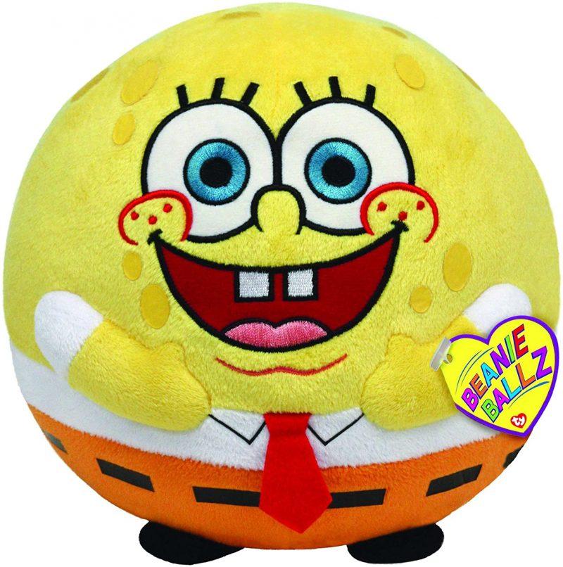 peluche-pupazzo-pupazzetto-ty-spongebob-ball-palla