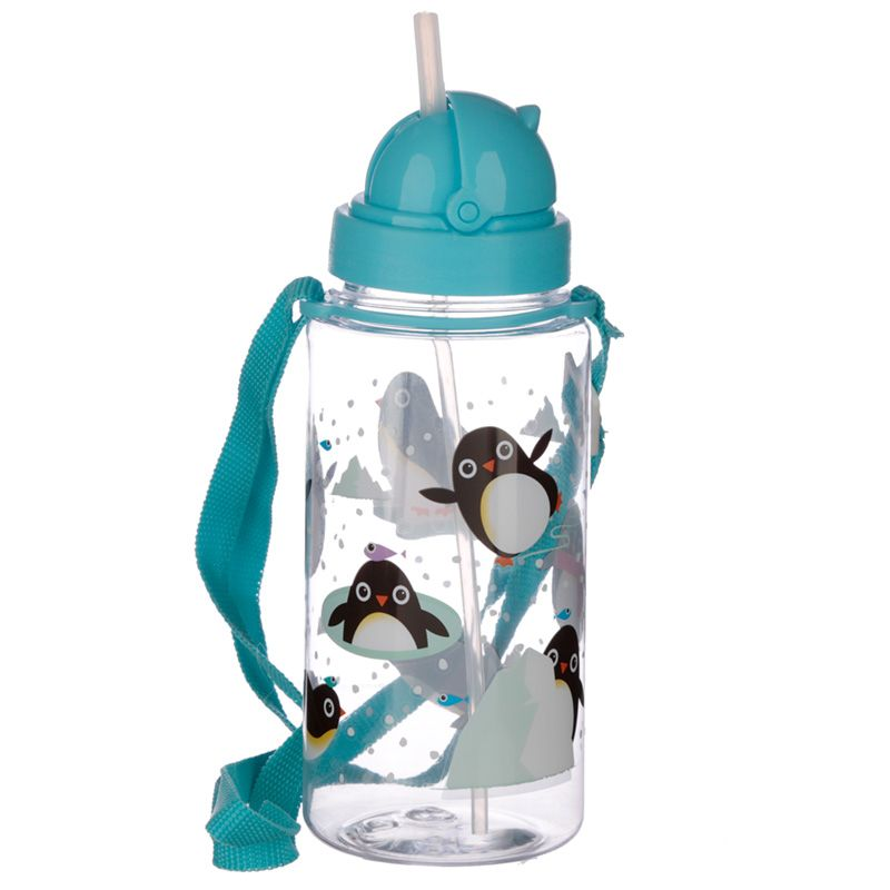 borraccia-bottiglia-bot-trasparente-bottle-trasparente-pinguino-penguin-snow-winter-neve-bot47