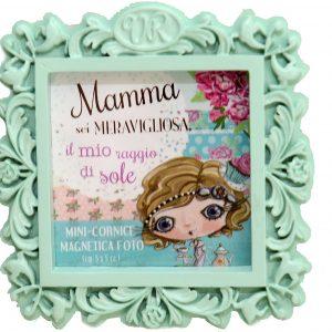 cornice-fotografica-foto-magnetica-verde-verity-rose-photo-mamma-photografy-fotografia-mamma-vrm01