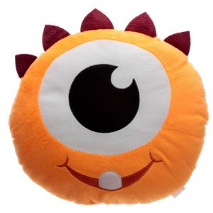 cuscino-peluche-soffice-arancione-monster-mostro-puckator-relax-divano-morbido-cush215