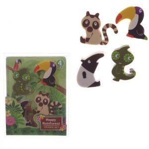 gomme-gomma-cancellare-rubber-pencil-animali-foresta-amzzonica-eraser-sta46