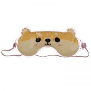 maschera-mascherina-dormire-sonno-notte-occhi-cutie-eyemask-eye-gel-cane-shiba-inu-epp24
