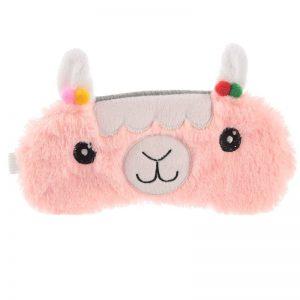 maschera-mascherina-dormire-sonno-notte-occhi-cutie-eyemask-eye-lama-rosa-epp12