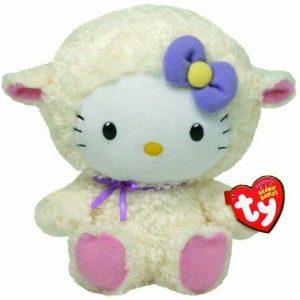 peluche-hello-kitty-beanie-pupazzo-pupazzetto-rosa-soffice