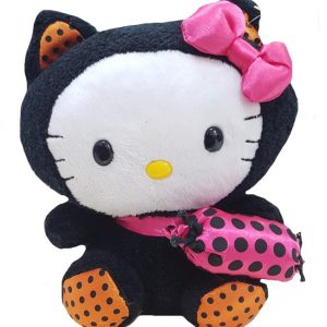 peluche-hello-kitty-dolce-dolcetto-pupazzo-pupazzetto-rosa-nero-soffice-halloween