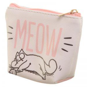 sacca-sacchetta-porta-monete-moneta-portafoglio-borsellino-simon-cat-meow-bag-PUR57