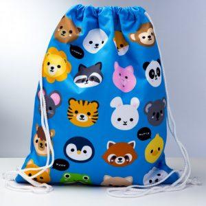 sacca-sacchetta-zaino-zainetto-animali-dolci-borsa-porta-animals-bag-GBAG78