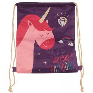 sacca-sacchetta-zaino-zainetto-unicorno-unicorn-viola-rosso-bag-GBAG65