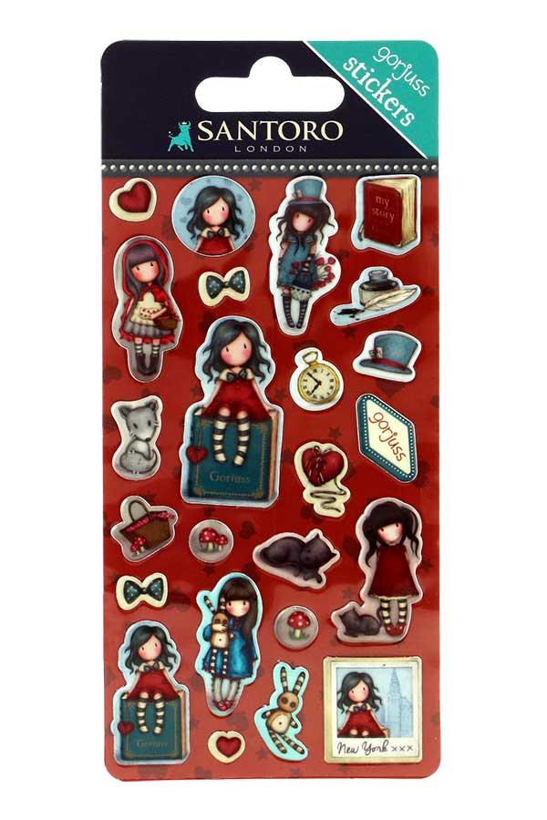 sticker-stickers-adesivo-adesivi-gorjuss-santoro-bimba-bambina-rosso-blu-680GJ09