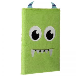note-pad-quaderno-quadernino-verde-green-mostro-monster-fluffies-memo62