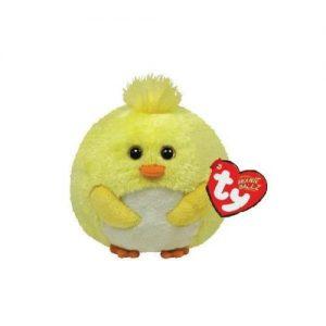 peluche-ballz-animaletto-animals-animal-beanie-ball-pulcino-giallo-palla-pupazzo-pupazzetto-soffice