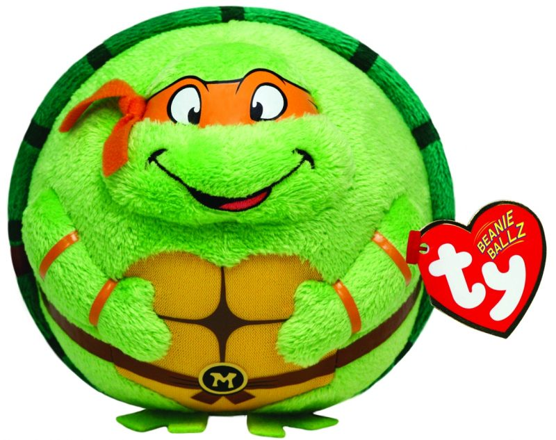 peluche-ballz-animaletto-animals-animal-beanie-ball-tartaruga-ninja-tartarughe-michelanagelo-palla-pupazzo-pupazzetto-soffice