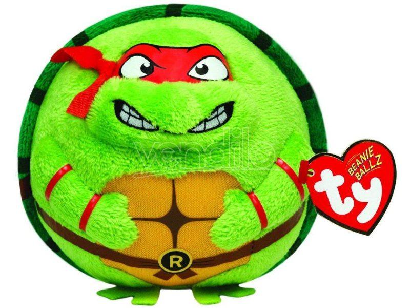peluche-ballz-animaletto-animals-animal-beanie-ball-tartaruga-ninja-tartarughe-raffaello-palla-pupazzo-pupazzetto-soffice