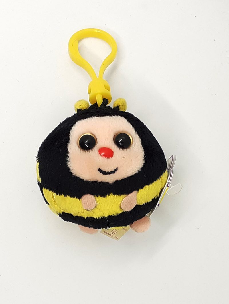 peluche-portachiavi-ballz-animaletto-animals-animal-beanie-ball-ape-bee-pupazzo-pupazzetto-soffice