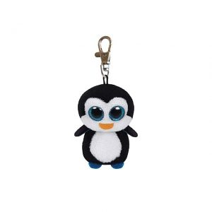 peluche-portachiavi-pinguino-penguin-animale-animals-animal-ty-beanie-boos-pupazzo-pupazzetto-soffice