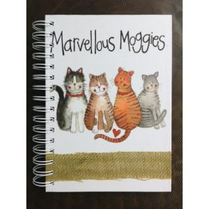 quaderno-quadernino-anelle-appunti-notebook-notes-happy-shop-alex-clark-gatti-gatto-cat-cats-sj07