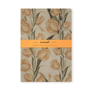 quaderno-quadernino-appunti-notebook-fiore-fiori-flower-flowers-notes-happy-shop-brossurato-righe-eco