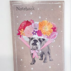 quaderno-quadernino-appunti-notebook-notes-happy-shop-animals-animali-animale-cagnolino-cagnolini-cani-cane-dog-dogs-fiore-fiori-flowers