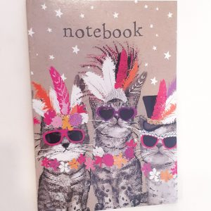 quaderno-quadernino-appunti-notebook-notes-happy-shop-animals-animali-animale-gattinigatti-cat-cats-fiori-flowers-fiore-fiore-fiori-flowers