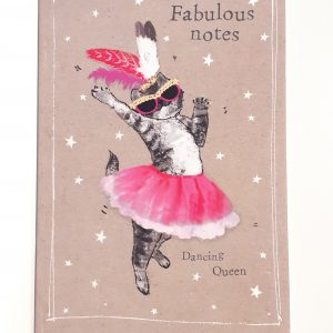 quaderno-quadernino-appunti-notebook-notes-happy-shop-animals-animali-animale-gatto-cat-gattino-ballerino-ballerina