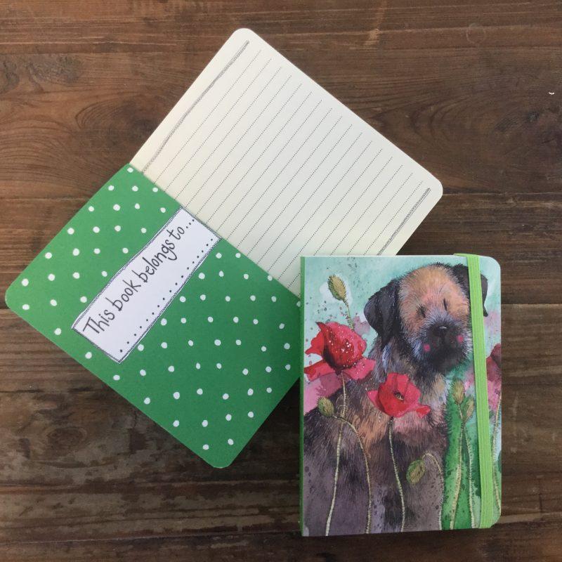 quaderno-quadernino-appunti-notebook-notes-happy-shop-cane-dog-cagnolino-fiori-flowers-fiore-scn10
