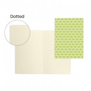 quaderno-quadernino-appunti-notebook-notes-happy-shop-verde-green-carta-goffrata-eco-ecoivory-spillato
